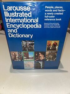 Larousse Illustrated International Encyclopedia And Dictionary - First Edition