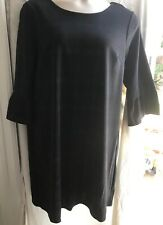 Ladies size 18 3/4 sleeve black/red check dress by Dorothy Perkins *NEW+TAGS*