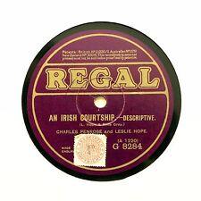 "Charles Penrose & Leslie Hope ""An Irish fréquentations"" REGAL G-8284 [78 tours]"