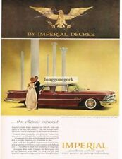 1959 Chrysler IMPERIAL Le Baron Silvercrest Landau Regent Ruby VTG PRINT AD