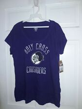 College of the Holy Cross Crusaders NCAA T-Shirt HC Crusader knight -- Ladies M