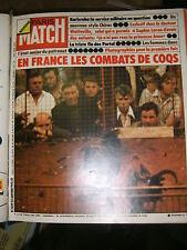 Paris Match N° 1339 25 janvier 1975 Combats de coqs Sophia Loren Portal Chirac