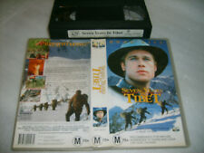 Vhs *SEVEN YEARS IN TIBET* Rare 1997 Columbia - Brad Pitt - Action Thriller S1