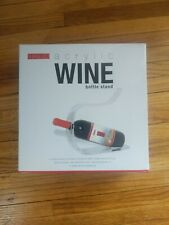 New listing Undici Acrylic Wine Bottle Stand New & Unused In Original Packaging