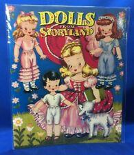 Dolls from Storyland Paper Dolls Fairytale Reprint of 1948 Vivian Robbins New