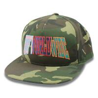 HUF Mens Suspension Arch Snapback Hat Camo One Size New