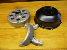 HONDA TRX 300 TRX300 4X4 2X4 4X2 TRX300FW REAR BRAKE DRUM, SHOES, SEAL TIN COVER