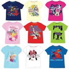 Camiseta de niño de 2 a 16 años manga corta multicolor