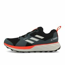 adidas Terrex Two GTX Black Grey Two Solar Red Laufschuhe Trailschuhe Schwarz