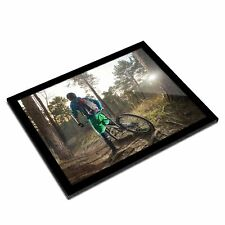 A3 Marco de Cristal-Mountain Bike BMX TRAIL Racing Arte Fresco Regalo #8657