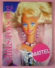 1992 MATTEL CATALOG GIRLS TOYS - BARBIE, SHANI, 90210, POLLY POCKET, DISNEY, ETC