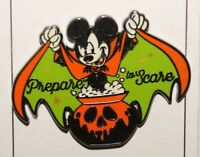 Disney Mickey with Cape Prepare To Scare 2018 Halloween Pin
