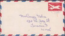 US - Alaska Territory - 1950 Ugashik Postmark on # UC18 Lake & Peninsula Borough