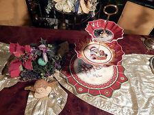 riesige Etagere Tafelaufsatz 3stufig Villeroy & Boch Toys Fantasy Weihnachten 1