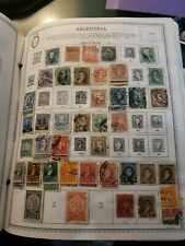 Large Argentina Stamp Collection 1858 To 1960s