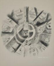 Robert DELAUNAY - lithographie originale - Paris, la place de l'Etoile