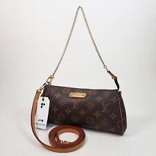 Auth Louis Vuitton Eva Clutch Monogram M95567 Genuine Shoulder Clutch Bag LC148