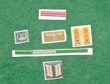 1/6 Ww2 Alemanas Africa Korps Dak insignia, Badge Y Parches
