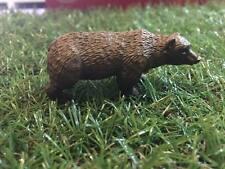 Japan Grey Brown Bear animal PVC Mini Figurine Figure Model 6cm
