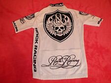 Original Rock Racing Jersey Body Armor in White Black Special Edition Größe M