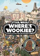 Star Wars: Where's the Wookiee? Search and Find Book,Lucasfilm