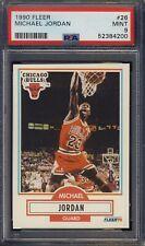 1990 Fleer #26 Michael Jordan PSA 9 MINT NBA NEW PSA GRADE - Ships F CAN & USA