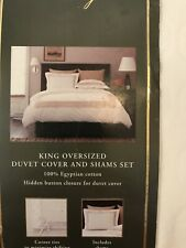 Nwt Fieldcrest King Duvet Cover Set With Shams