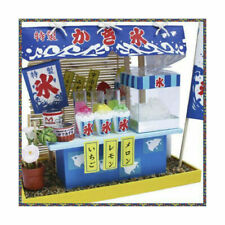 Billy Shaved Ice Food Cart 1/12 Doll House Model Kit Japan J8318