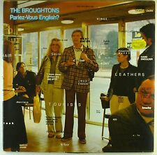 """12"""" LP - The Broughtons - Parlez-Vous English? - A3955 - washed & cleaned"""