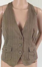 Topshop Button V Neck Waistcoats for Women