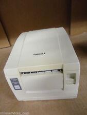 Toshiba TRST-56  POS  thermal receipt serial printer & PSU - TRST- 56-S-1G-QM-R