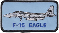 USAF F-15 Eagle Side Embroidered Patch ** LAST FEW **