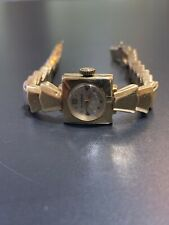 Longines Solid 14k Yellow Gold Ladies Watch