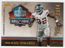 Michael Strahan Panini Pro Football Hall of Fame Class of 2014 Card HOF