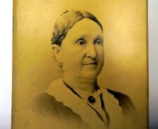 """Picture of  Lady ANTIQUE Photograph 6X4"""" Silver Gel Print McPherson Bros. 1880"""