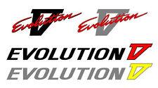 Mitsubishi Evolution 5 V Kit Etiqueta Engomada