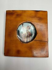 The Hamilton Collection Deliverance By Chuck Ren Mini Plate In Wood Frame