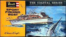 REVELL Kit No. H387-100, Chris Craft SPORT FISHING BOAT - NIB & SEALED, 1996
