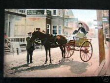 Canada~1900s SAINTE ANNE DE BEAUPRE Horse Buggy Main St
