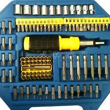Screwdriver torx bits c/w case ratchet screw driver set diy electronic repair