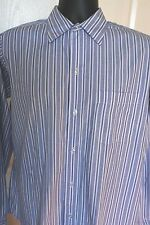 BROOKS BROTHERS Blue and White Dress Shirt MENS SIZE 15-5