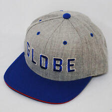 GLOBE IDAHO STARTER HEATHER GREY ROYAL BLUE SNAPBACK SNAP BACK HAT CAP
