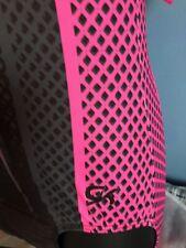 "GK Gymnastics Leotard  -  Pink/black 36"" AL"