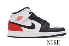 Nike Air Jordan 1 Mid SE Track Toe White Union-Style Men