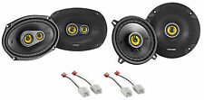 "Kicker 6x9""+5.25"" CSC Speaker Replacement Kit For 2008-2010 Dodge Ram 4500/5500"