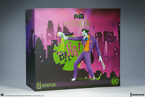 Sideshow Collectibles DC Batman Animated Series The Joker Statue New In Stock
