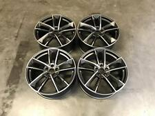 "19"" RS7 Performance Style Wheels Satin Gun Metal Machined Audi A4 A6 A8 5x112"
