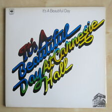 IT'S A BEAUTIFUL DAY At Carnegie Hall Dutch reissue vinyl LP in gatefold sleeve