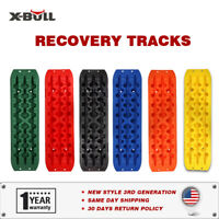 X-BULL 10T Recovery Tracks Sand Traction Snow Mud Tire Off-Road 4WD Ladder Pair