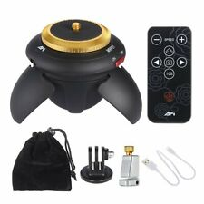 Electric 360 Rotation Panorama Time Lapse Tripod Head For GoPro Action Camera